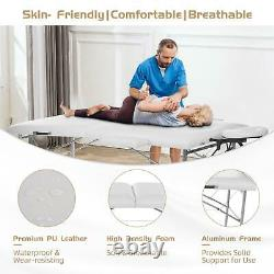 Portable Folding Massage Table Beauty Clinical Salon Tattoo Therapy Couch Bed