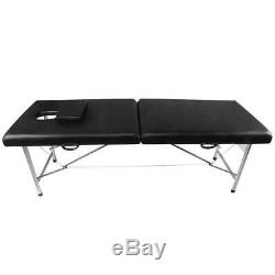 Portable Folding Massage Table Beauty Salon Bed Therapy Relaxing Spa Salon Home