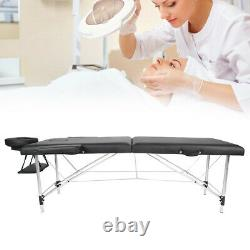 Portable Folding Massage Table Bed Lightweight Beauty Salon Therapy Tattoo Couch