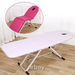 Portable Lightweight Massage Table Spa Bed Folding Therapy Beauty Salon Couch