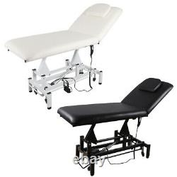 Portable Mobile Massage Table Electric Lift Salon Beauty Tattoo SPA Therapy Bed