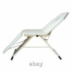 Portable Professional Massage Table Bed Therapy Beauty 182cm 3 Fold Couch Salon