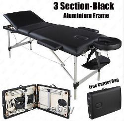 Professional Portable Folding Massage Table Beauty Salon Bed Therapy Relax Couch