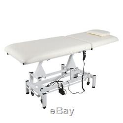 Recling Massage Tables Beauty Salon Tattoo Therapy Couch Bed Electric Hydraulic