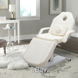Reclining Beauty Salon Chair Couch Bed Massage Table Tattoo Therapy Facial Spa