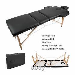 Reclining Folding Massage Tables Bed Beauty Eyelash Cosmetic Salon SPA Treatment