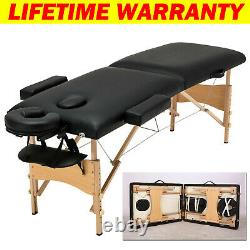 Reclining Massage Bed Beauty Salon Chair Therapy SPA Tattoo Table Couch Pedicure