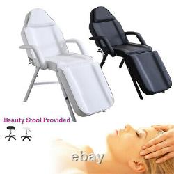 Salon Beauty Bed Facial Massage Table Chair Tattoo Couch & Stool Chair UK