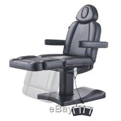 Salon Electric Facial Beauty Bed Massage Tattoo Treatment Couch 8103 BLACK