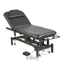 Salon Electric Facial Beauty Bed Massage Tattoo Treatment Couch 8230 white