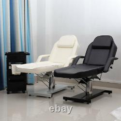 Salon Spa Massage Chair Bed Medical Beauty PULeather Hydraulic Adjustable Swivel