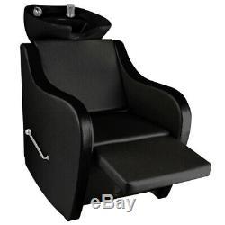 Shampoo Hairdressing Backwash Unit Beauty Salon Washing Chair Foldable Bed Seat