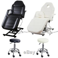 Spa Salon Electric Facial Hydraulic Chair Bed Table Medical Treatment Beauty Bed