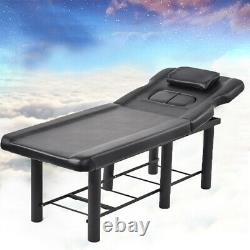 Stable Beauty Salon Bed Massage Table Tattoo Therapy Couch Chair Recliner Stand