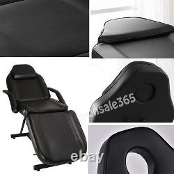 UK Beauty Salon Massage Table Stand Chair Couch Bed Stool For Tattoo Spa Therapy