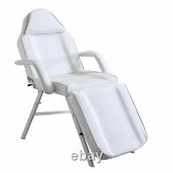 White Beauty Massage Table & Chair- Adjustable Salon Bed Tattoo Therapy Spa UK